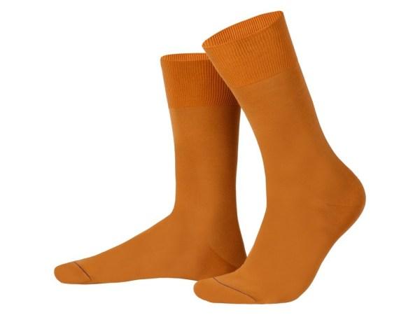 Egyptian cotton socks (terracotta), Luxury collection