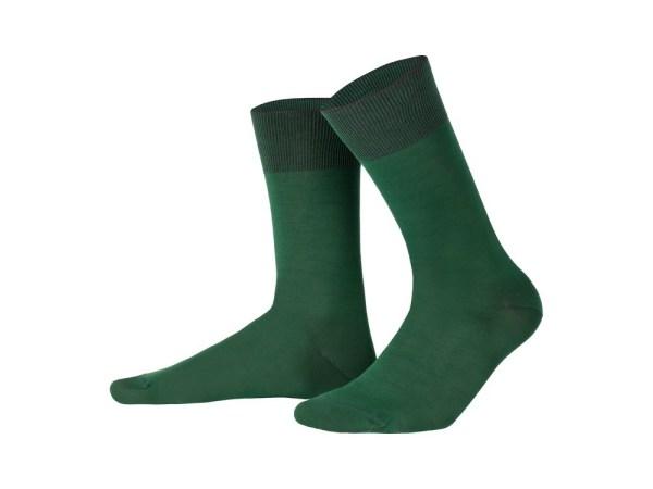 Egyptian cotton socks (green), Luxury collection