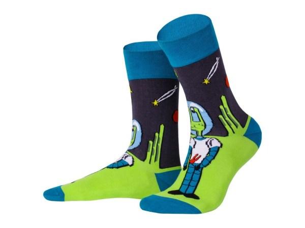 "Socks ""Martian"", Creative collection"