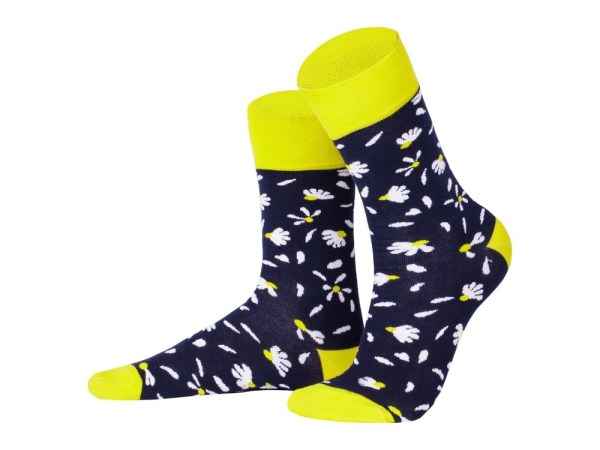 "Socks ""Camomiles"", Creative collection"