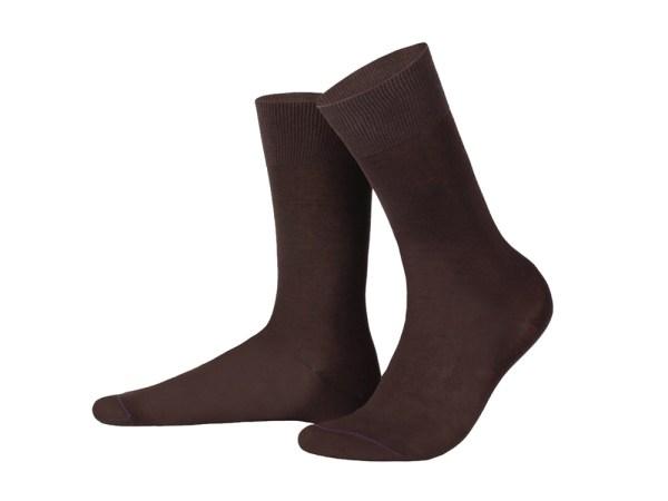 Шкарпетки з єгипетської бавовни (світло-коричневі), колекція Luxury