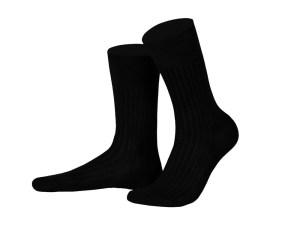 Шкарпетки з єгипетської бавовни (чорнi), колекція Luxury