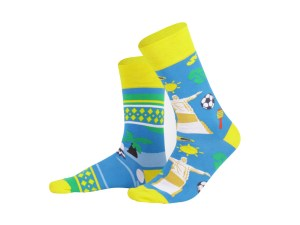 "Socks ""Brasilia"", Creative Travel collection"