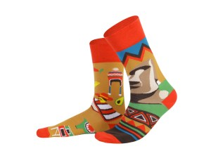 "Socks ""Chilе"", Creative Travel collection"