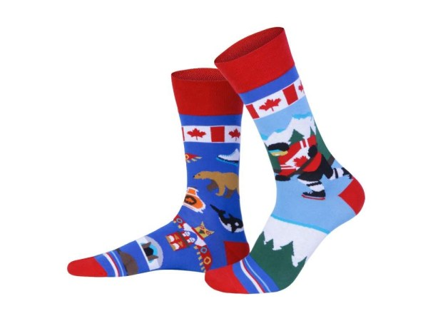 "Socks ""Canada"", Creative Travel collection"