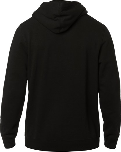 Fox Furnace Adult Pullover Hoodie Black Back