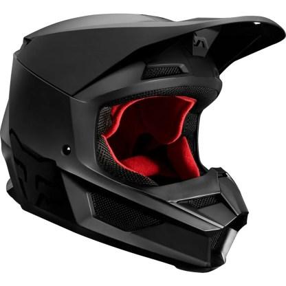 Fox V1 Przm Helmet Camo Matte Black Adult