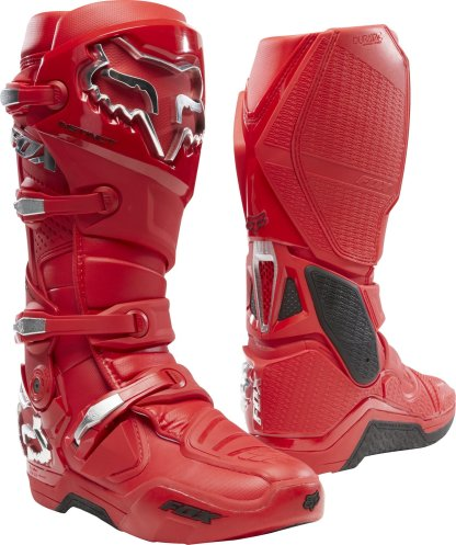 Fox Racing Instinct Prey Flame Red Boots Adults 2020
