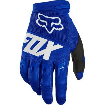 Fox Dirtpaw Blue/White Glove 2020 Adults