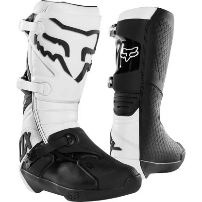 Fox Racing Comp Adult Motocross Boots White