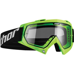 Thor Enemy Motocross Goggle Youth Kids Flo Green