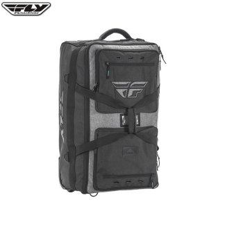 Fly Racing Tour Roller Gear Bag Black/Heather Medium