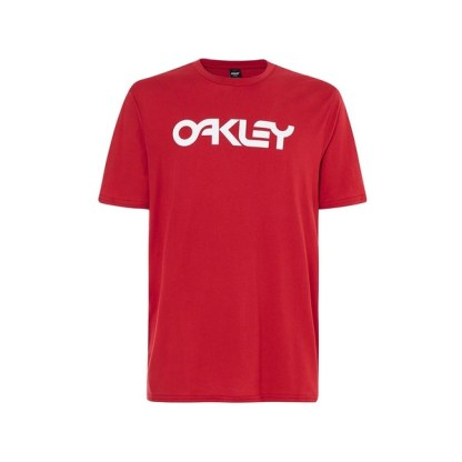 Oakley Casual Adult Urban Performance Tee Mark II Samba Red