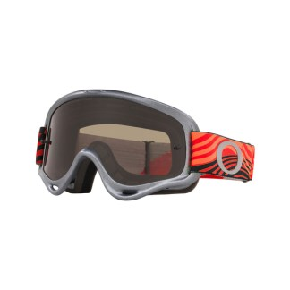 Oakley XS O Frame Sand MX Goggle Wind Tunnel RWB Clear & Dark Grey Lens
