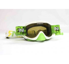 RNR Hybrid Fully Loaded Roll Off Goggles Limited Green