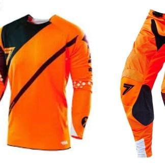 Seven 16.2 Rival Fuse MX Kit Flo Orange/Black Adult