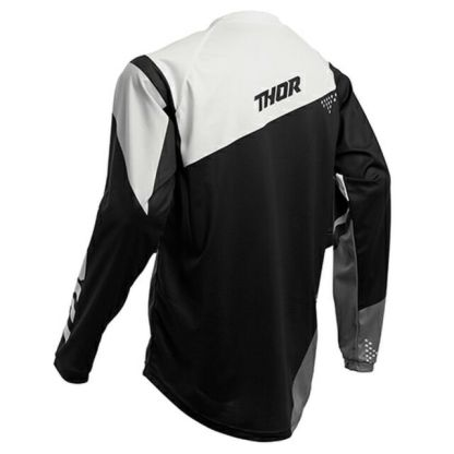 Thor Sector Blade Jersey Black/White Youth Back