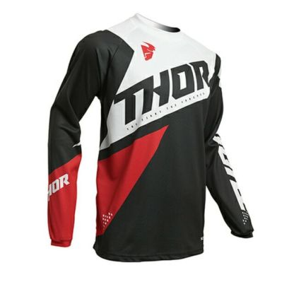 Thor Sector Blade Jersey Charcoal/Red Youth