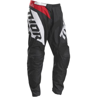Thor Sector Blade Pants Charcoal/Red Youth
