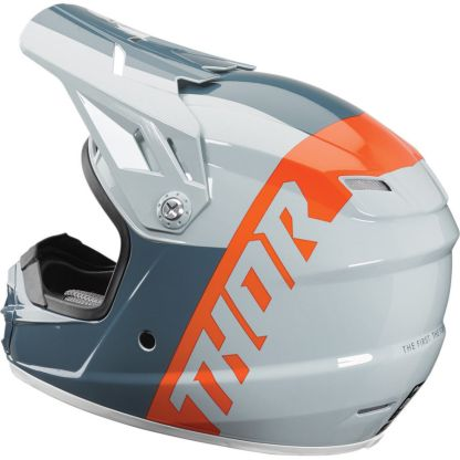 Thor Sector Shear Helmet Slate/Grey Youth Side