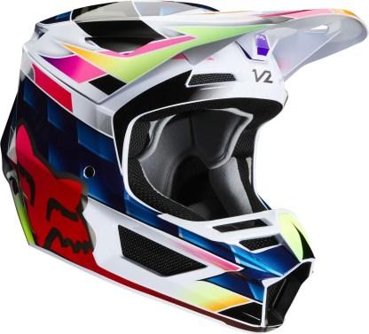 Fox V2 KRESA Helmet Multi