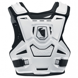 Thor Sentinel Adult Body Armour White