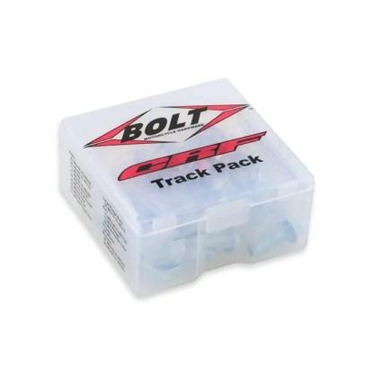 BOLT TRACK PACK FASTENER KIT HONDA CRF STYLE