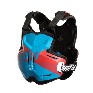 LEATT CHEST PROTECTOR 2.5 ADULT ROX BLUE RED