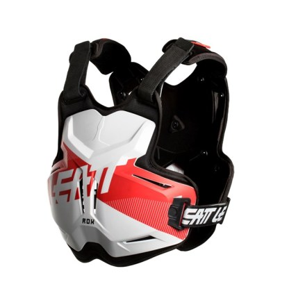 LEATT CHEST PROTECTOR 2.5 ADULT ROX WHITE RED