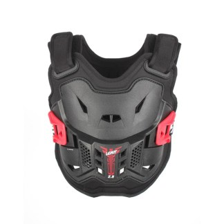 LEATT CHEST PROTECTOR 2.5 BLACK RED MINI