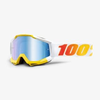 100% Accuri Goggles Astra Blue Mirror Lens