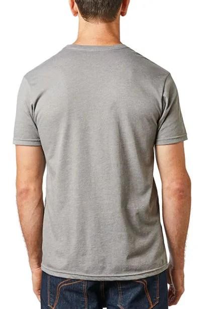 Fox Monster Pro Circuit T-Shirt Heather Graphite back