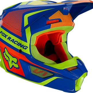 Fox V1 Oktiv Adult Helmet Blue
