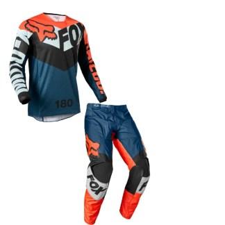 Fox 180 Trice Kit Grey Orange