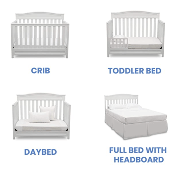 CRIB  DAYBED  TODDLER BED  FULL BED WITH  HEADBOARD