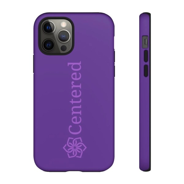 Online iPhone 12 Pro Centered Tough Phone Cases