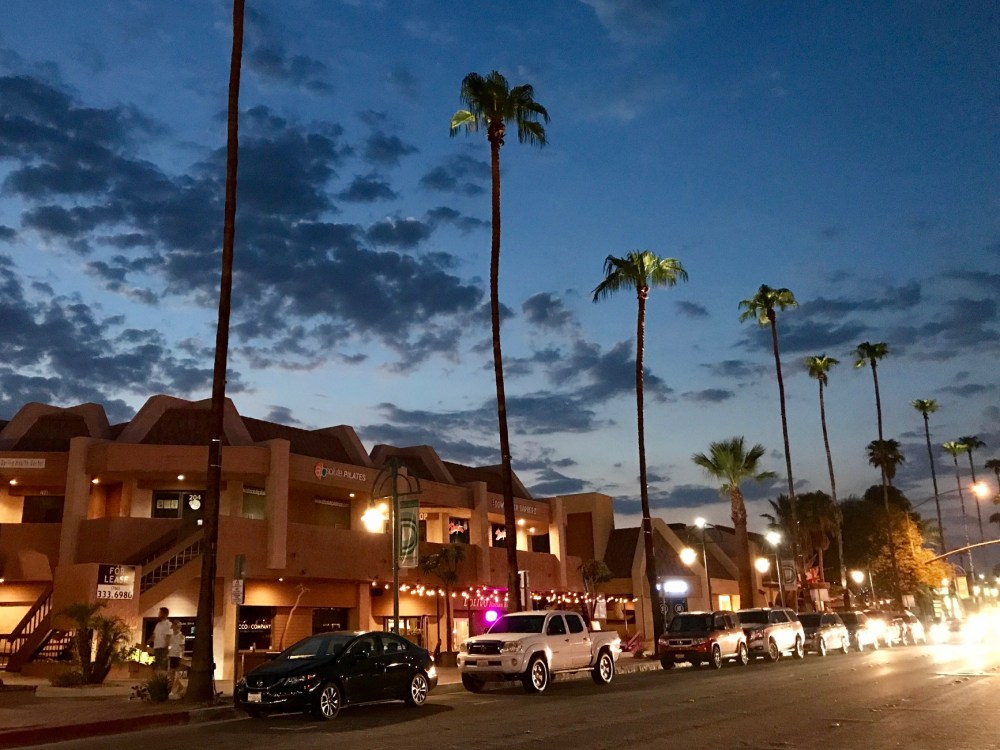 Downtown Palm Springs, CA