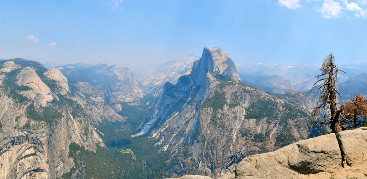 11. View of Yosemite Valley and Half Dome from Glacier Point