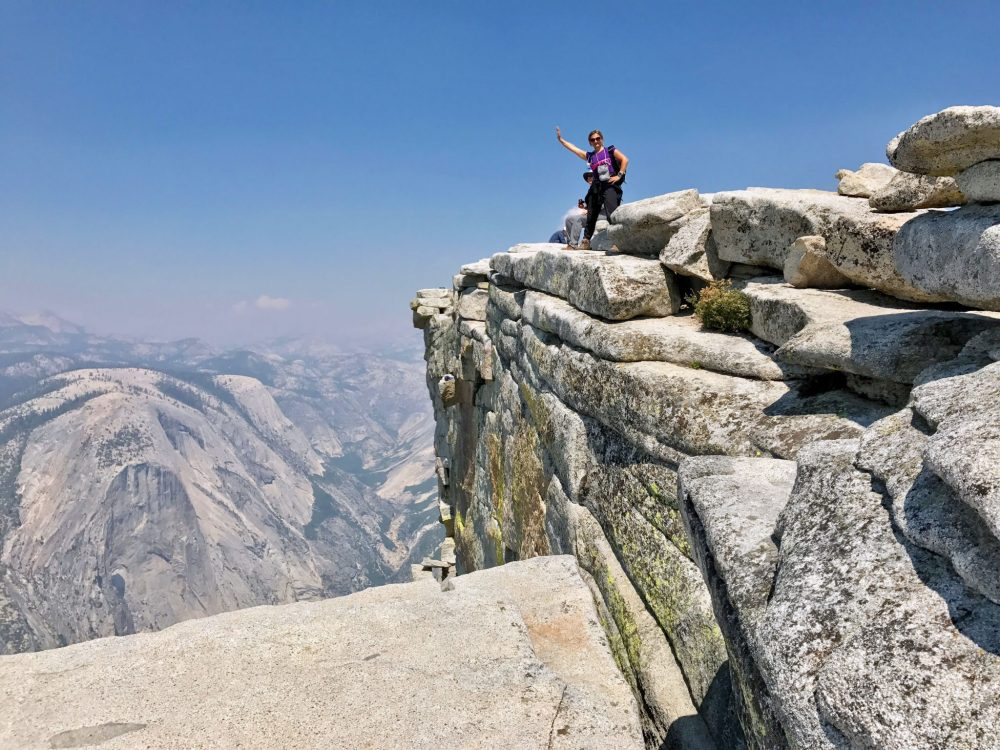 On top of Half Dome