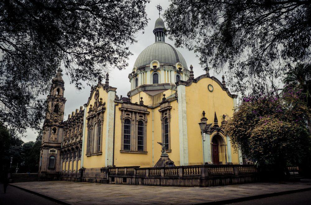 Holy Trinity church in Addis Ababa, Ethiopia