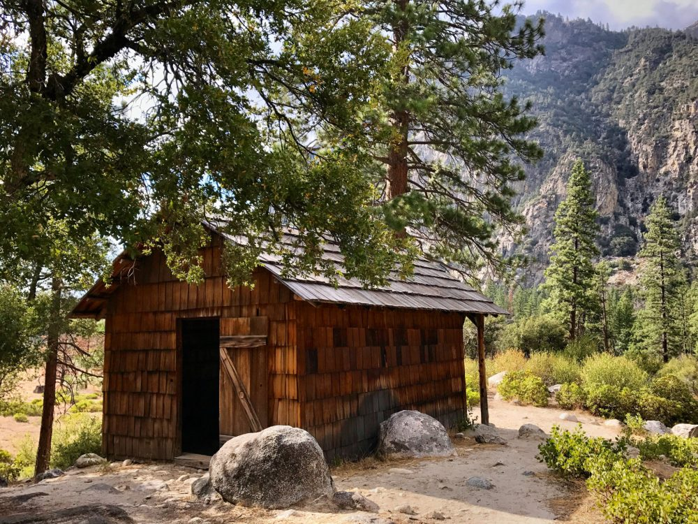 Knapp's Cabin in Kings Canyon National Park