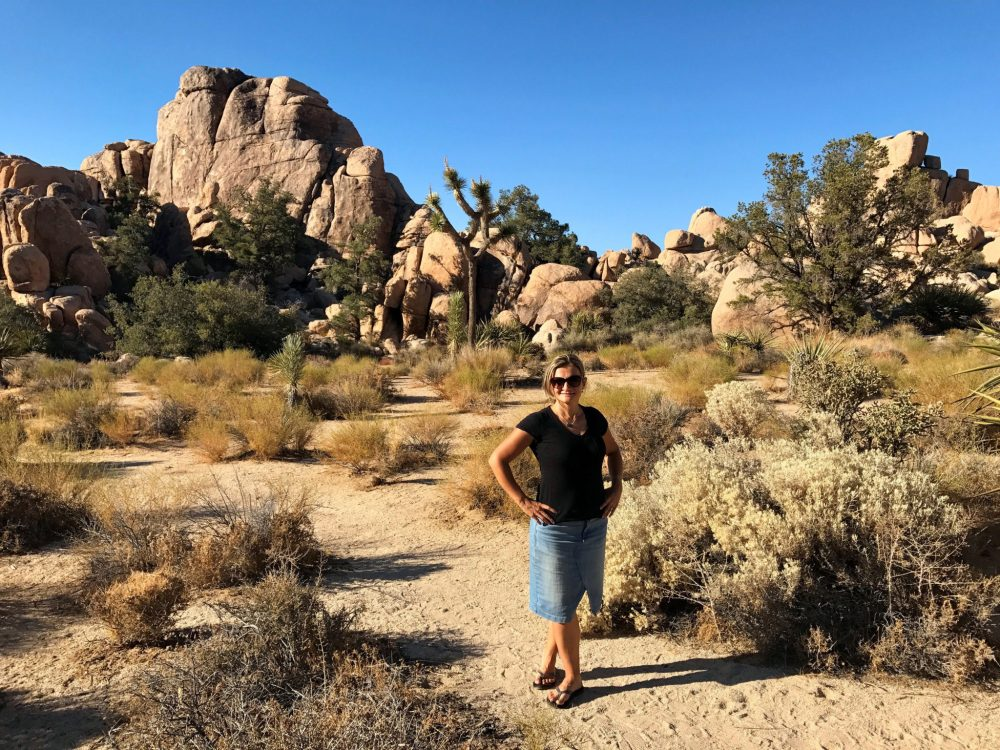 Hidden Valley Trail, one of the best spots in Joshua Tree