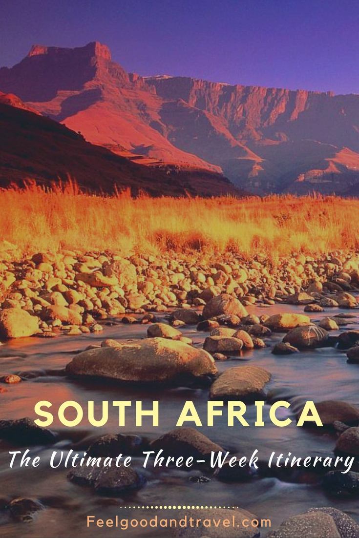 South Africa Itinerary for Three Weeks