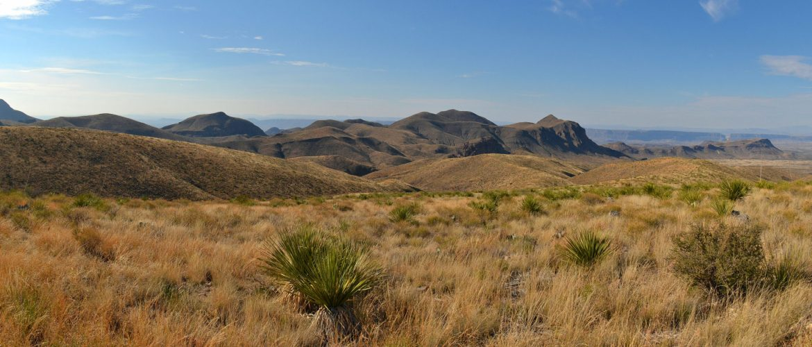 View from Sotol Vista in Big Bend