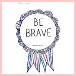 Illustrated Feel Good Com Be Brave Award