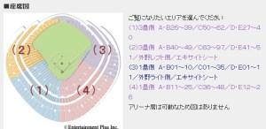 東京ドーム 座席