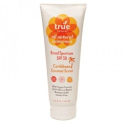 True Natural Caribbean Coconut Sunscreen