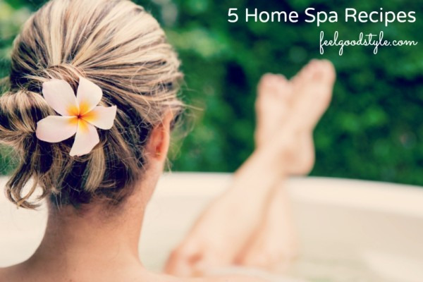 5 Home Spa Recipes