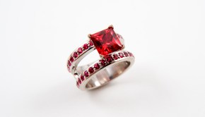Ruby engagement ring by C5