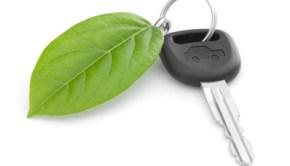 Green Car Key